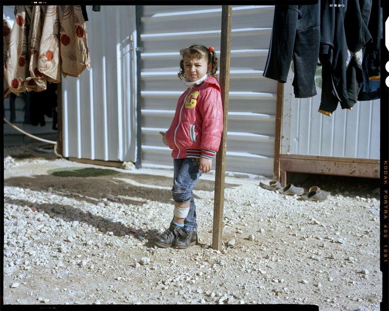 Arjwan, 6 jaar,<br/>Zaatari, Jordanië