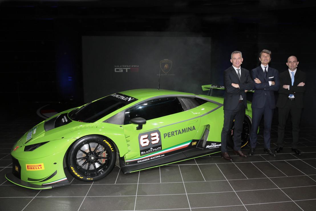 Wereldpremière van de Lamborghini Huracán GT3