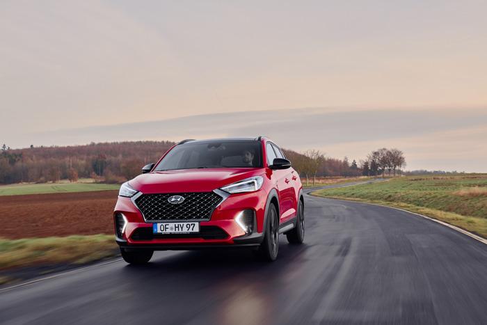 Sportiever en efficiënter: de nieuwe Hyundai Tucson krijgt als eerste SUV een N-Line versie