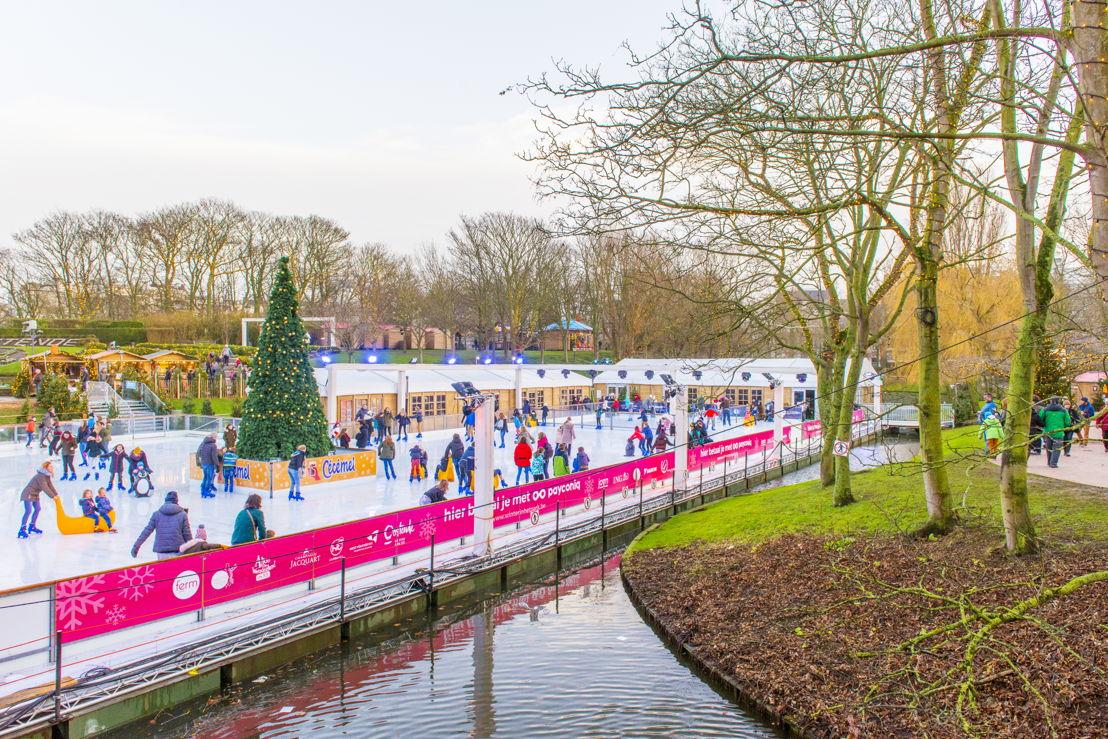 Winter in Oostende - Winter in het Park