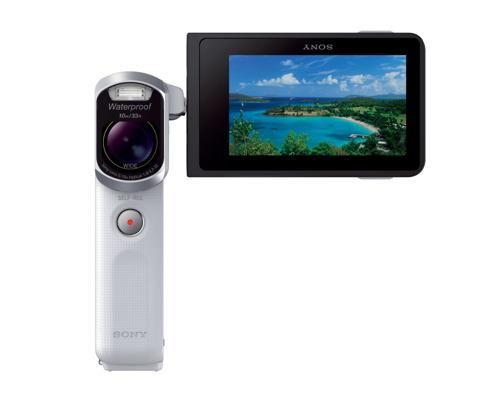 De waterdichte nieuwe Handycam® HDR-GW66VE: voor de vakantie van je leven