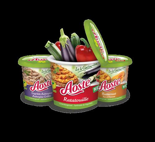 Preview: Aoste innoveert met verrassende vegan groentespreads