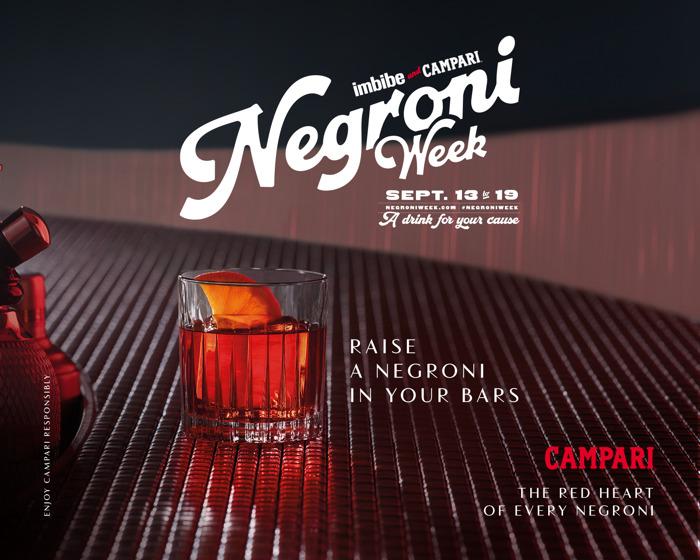 Proosten op het goede doel: Campari steunt liefdadigheidsinstelling voor de Negroni Week 2021