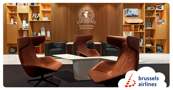 "Preview: THE LOFT by Brussels Airlines and Lexus à Brussels Airport nommé ""Europe's Leading Airport Lounge 2019""."