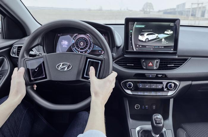 Cockpit van de toekomst – Hyundai onthult studie naar virtuele cockpit
