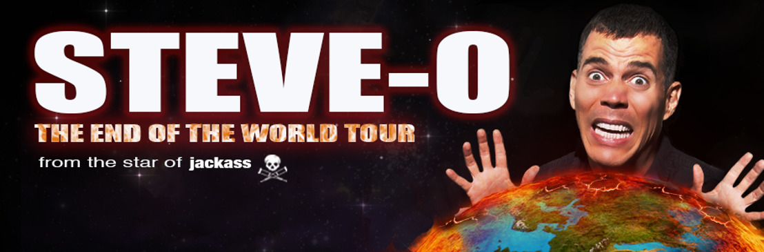 JACKASS legend Steve-O coming to Belgium