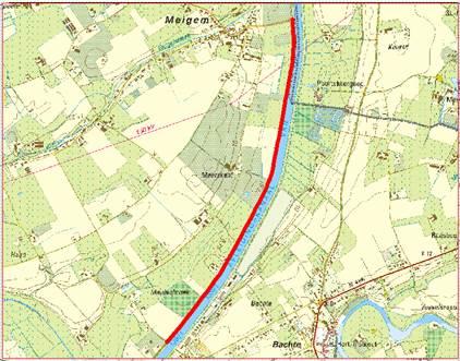 Traject Meulebroeckstraat – Weg naar de Vaart