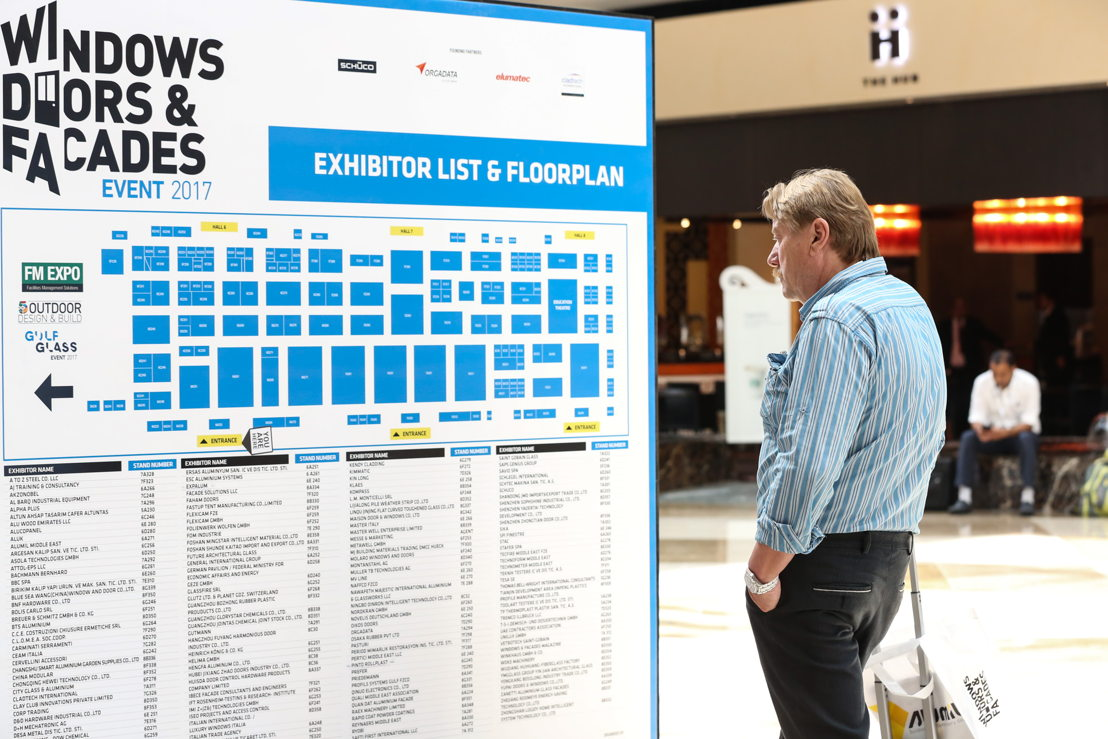 Over 150 local and international brands exhibit at the Windows, Doors & Facades Event 2017