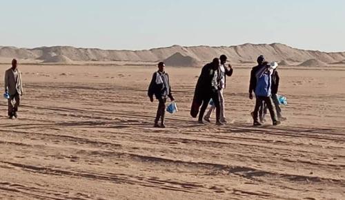 """""""Imagina que te abandonan en el desierto, en medio de la nada, sin comida ni agua"""""""