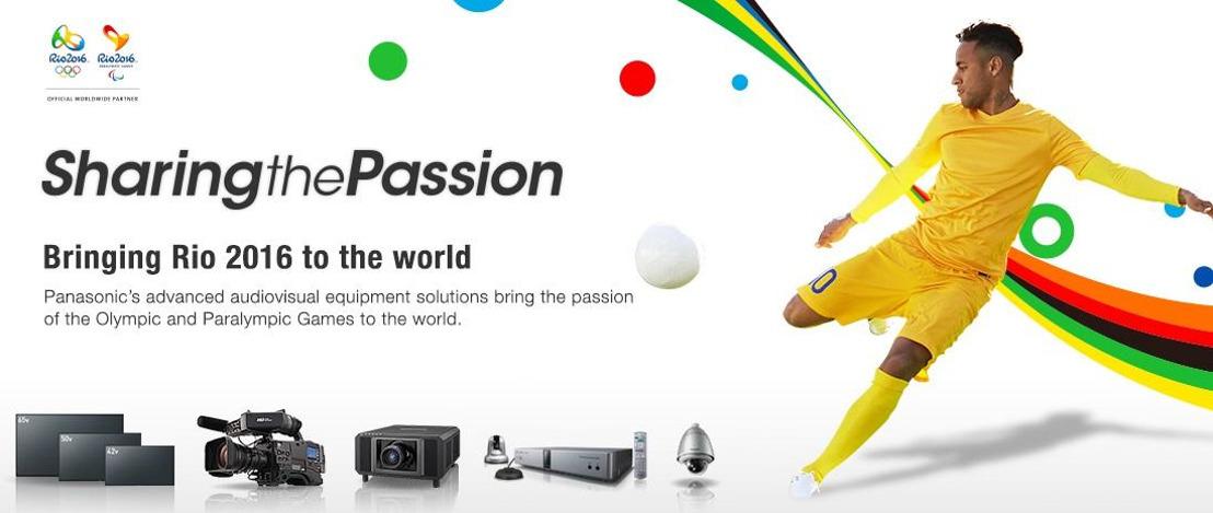 Panasonic lleva a otro nivel la experiencia audiovisual de los Juegos Olímpicos y Paralímpicos de Río 2016
