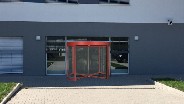 3D Entrance – augmented reality app for visualising physical access systems