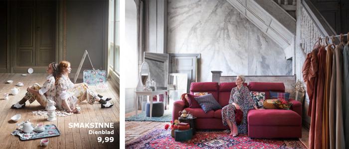 Warme kleuren en speelse motieven voor de herfst bij IKEA