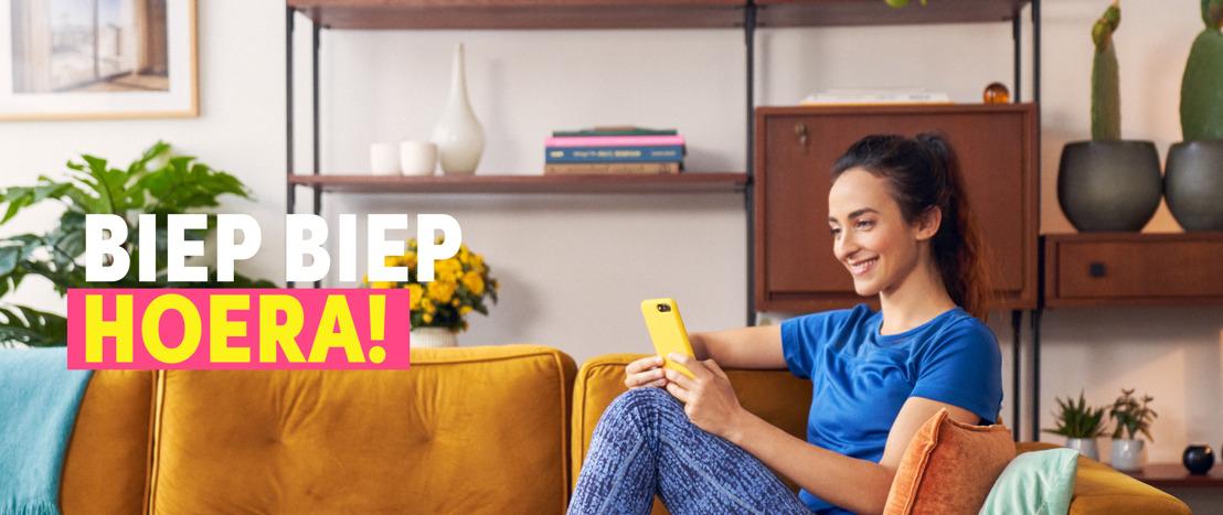 Boondoggle zegt Biep Biep hoera voor de Payconiq by Bancontact app.