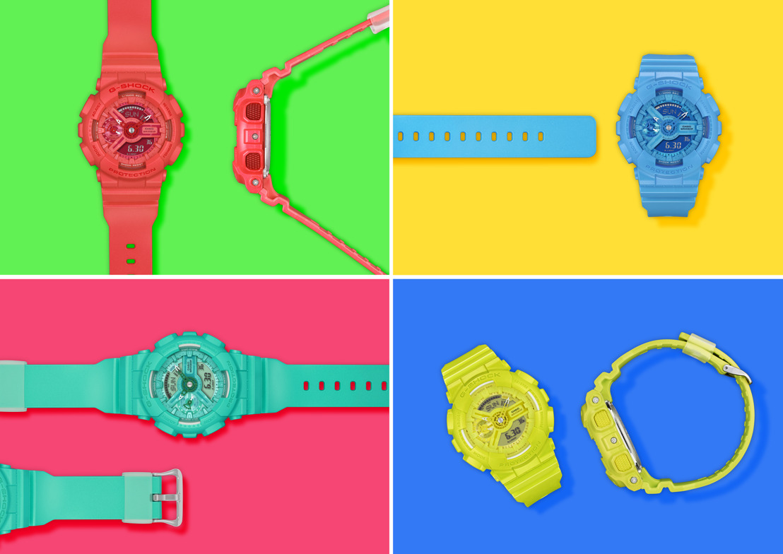 IMPOSIBLE NO VERLOS: LOS NUEVOS MODELOS DE LA S SERIES VIVID COLOR COLLECTION DE G-SHOCK