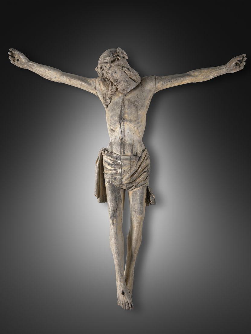 Christus aan het kruis, Meester van de gekruisigde Christusfiguren, c. 1500 © Lukas - Art in Flanders, foto Dominique Provost
