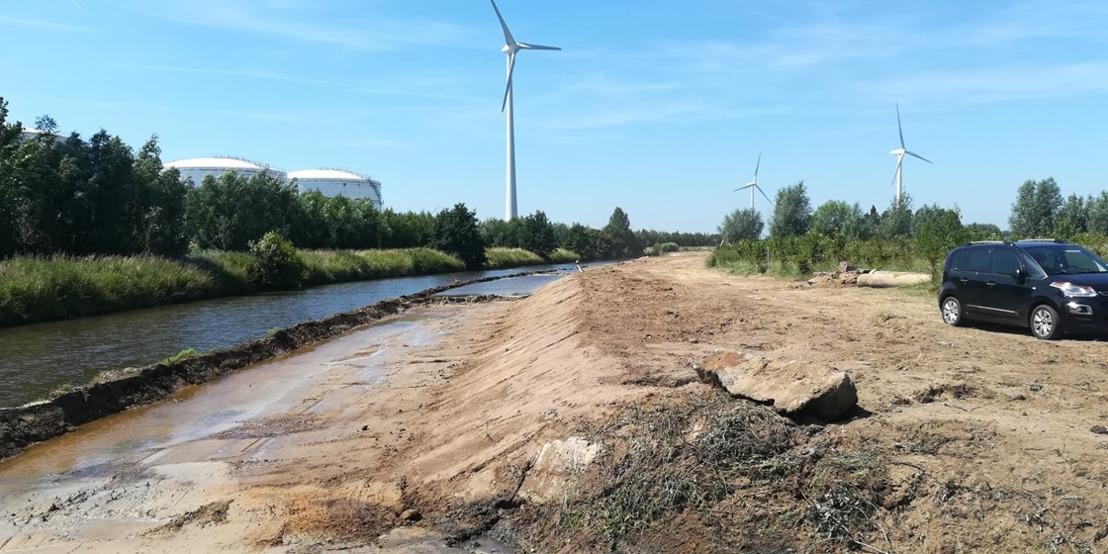 Werken koppelingsgebied Rieme-zuid (Gentse Kanaalzone) volop in uitvoering