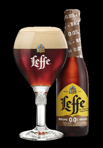 AB InBev lanceert twee nieuwe alcoholvrije bieren: Stella Artois 0,0% en Leffe Bruin 0,0%