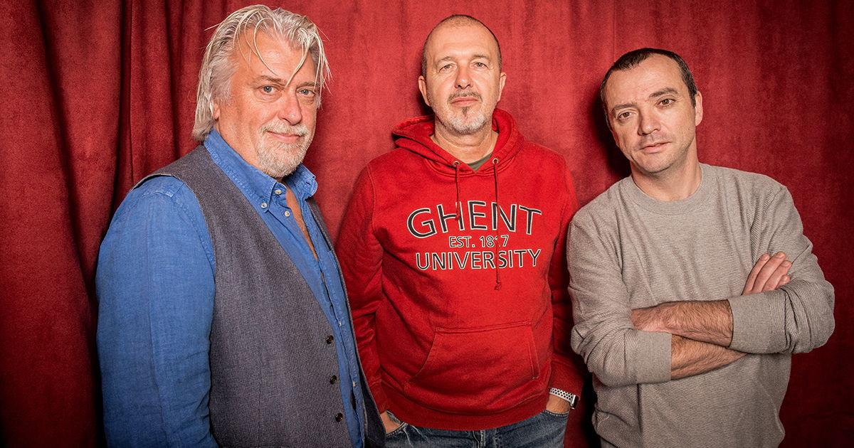 Peter Gillis, Alain Vande Putte en Miguel Wiels © Radio 2