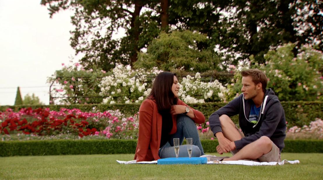 Vind je lief seizoen 1: Bram en Stefanie<br/>(c) VRT