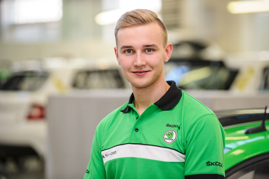Juuso Nordgren is the first of talented young drivers to be tested by ŠKODA Motorsport. He will compete in Spain in a ŠKODA FABIA R5.