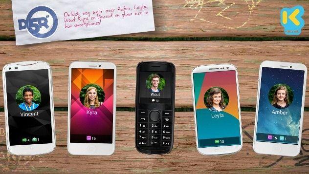 D5R: meer info via de smartphones op Ketnet.be - (c) VRT - Eyeworks