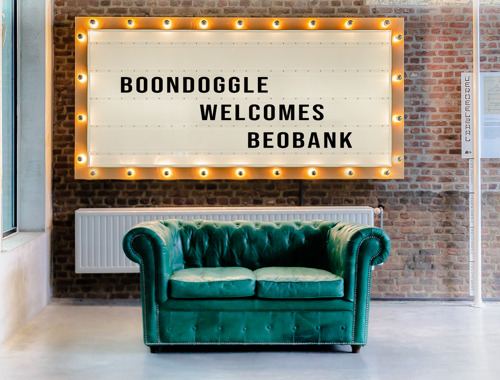Boondoggle wins the Beobank account