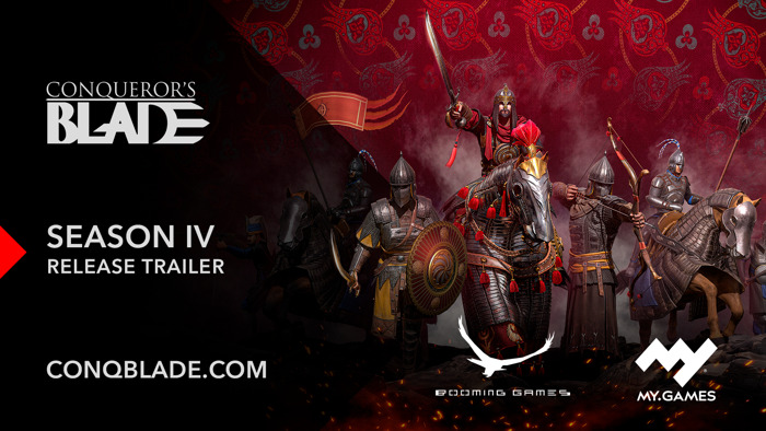 """Preview: CONQUEROR'S BLADE EXPANDS WITH """"SEASON IV: BLOOD OF THE EMPIRE"""" TODAY"""