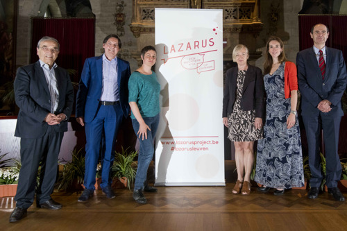 """De stad Leuven, KU Leuven, UZ Leuven en AB InBev bundelen expertise om schadelijk alcoholgebruik aan te pakken onder naam """"Lazarus, een nuchtere kijk op drinken"""""""