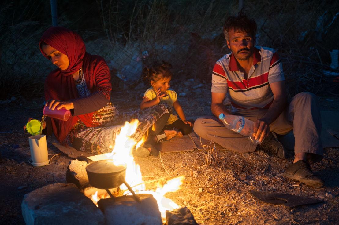 Familie uit Afghanistan © Georgios Makkas