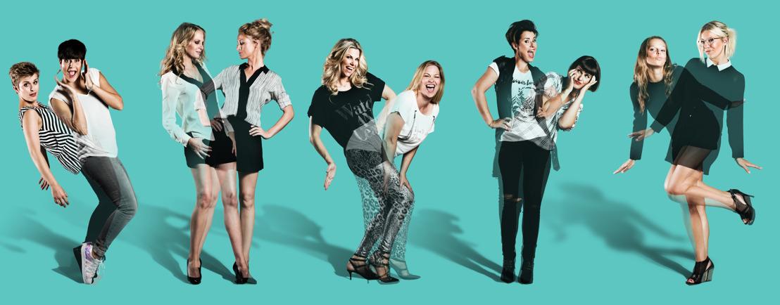 Fotomateriaal: Be you(tiful) met de zussen Daeleman, Jani en Bartel Van Riet