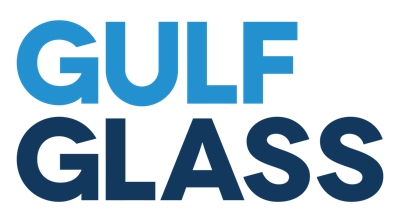 Gulf Glass press room Logo