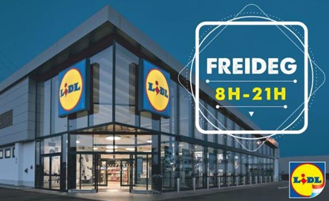 Lidl élargit les horaire d'ouverture de ses 10 magasins luxembourgeois
