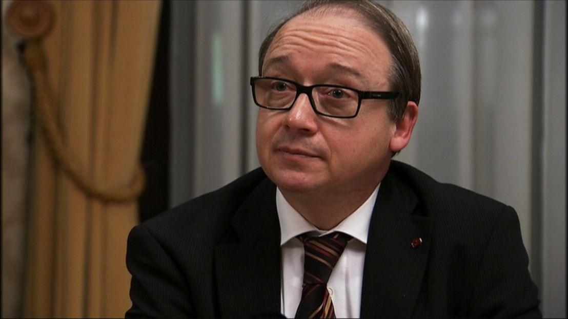Archiefbeeld Ghislain Londers, eerste voorzitter Hof van Cassatie - (c) VRT