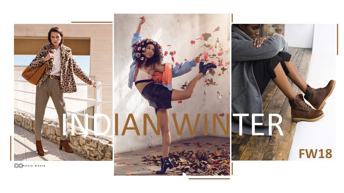 Trend Women Shoes FW18 : Indian Winter