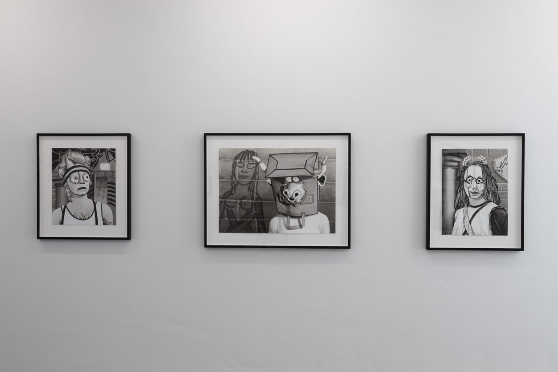 View of Mary Reid Kelley's exhibition at M – Museum Leuven | Photo (c) Dirk Pauwels