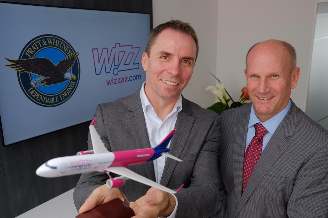 WIZZ AIR KIEST VOOR DE V2500-MOTOR OM ZIJN 10 BIJKOMENDE A321CEO'S AAN TE DRIJVEN