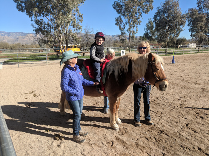 Therapeutic Riding of Tucson (TROT) semester ends with horse show