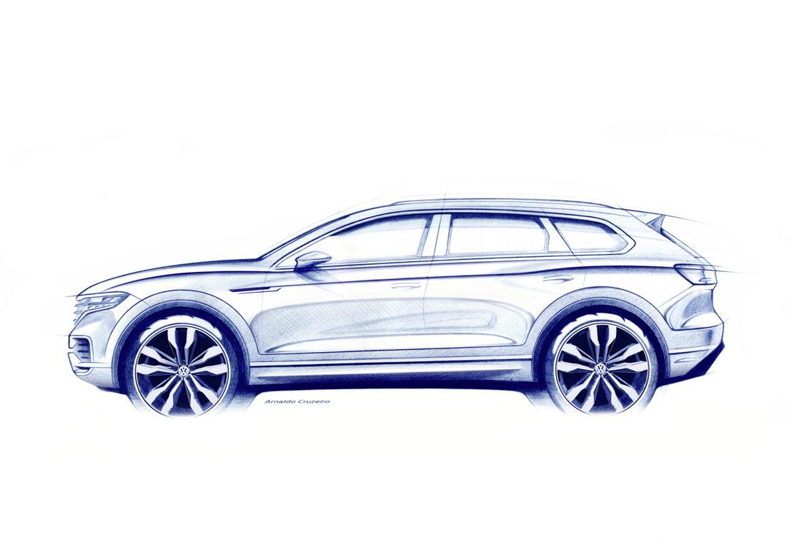 Leading the Way - de nieuwe Volkswagen Touareg (eerste informatie)