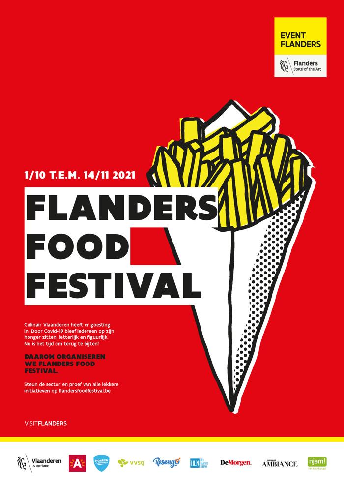 Preview: THE OVAL OFFICE GEEFT STARTSCHOT FLANDERS FOOD FESTIVAL