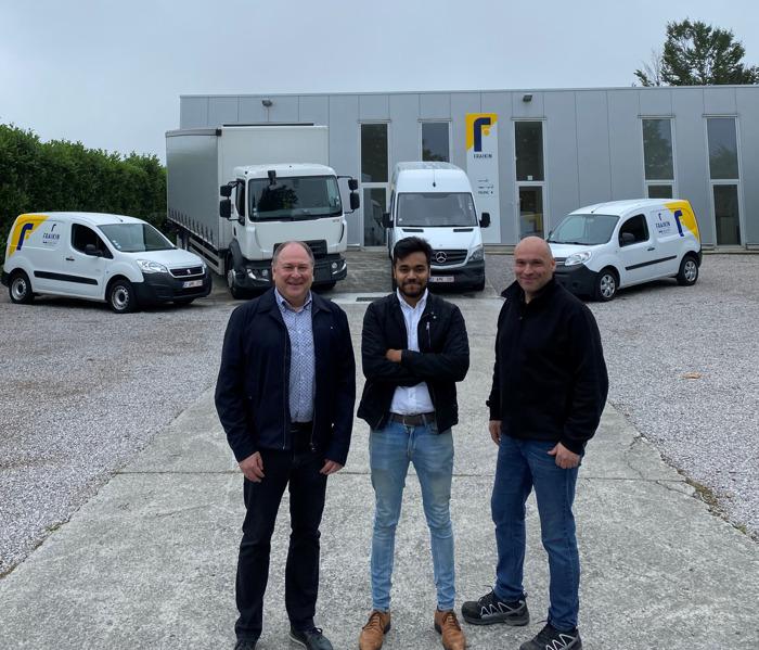 Fraikin opent centrale West-Vlaamse vestiging in Izegem