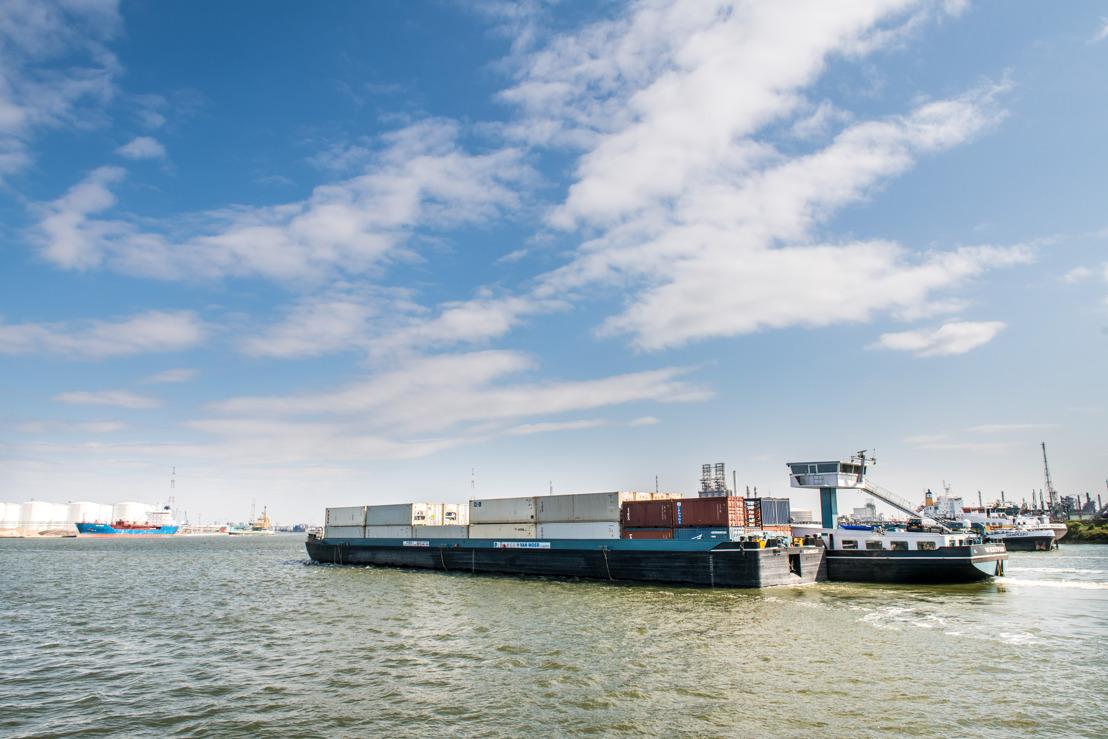 North Sea Port en Port of Antwerp ondersteunen digitalisatie binnenvaart met Vlaamse subsidies