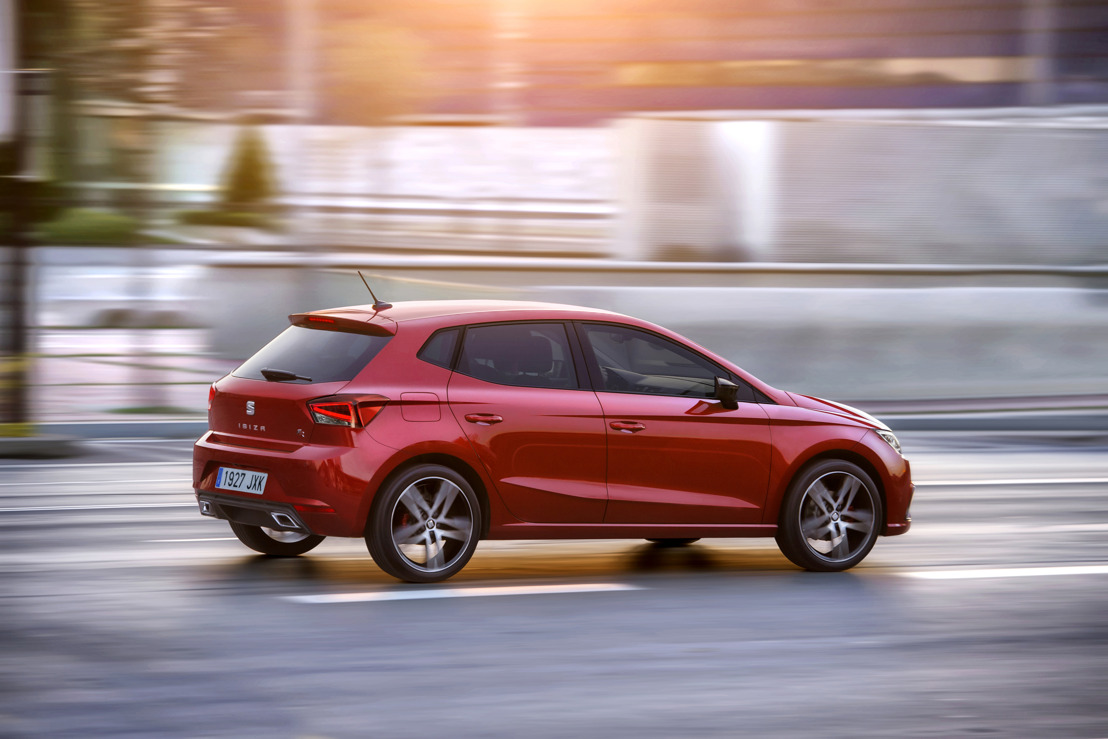 La nouvelle SEAT Ibiza reçoit le Red Dot Award for Product Design 2017
