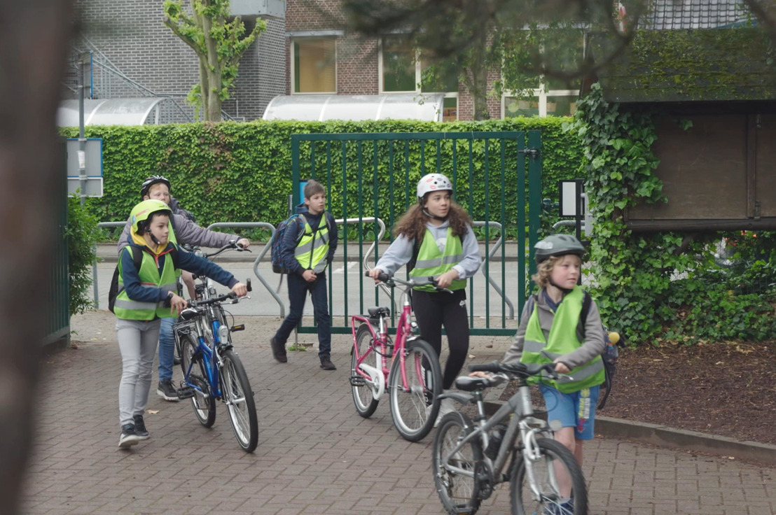 Digitale munt Buck-e overtuigt 50 procent meer kinderen om met de fiets of te voet naar school te gaan