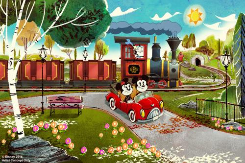 """Proyectores Panasonic ayudan a crear experiencias inmersivas en la atracción """"Mickey & Minnie's Runaway Railway"""" de Disney"""
