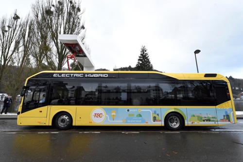 Le Groupe TEC achète 298 bus hybrides