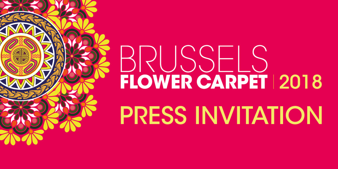 Press invitation Brussels Flower Carpet