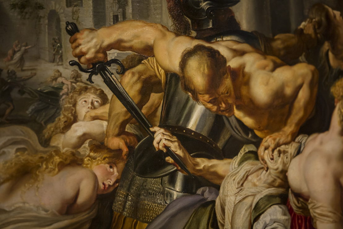 Image name: 8_Rubens, Massacre at the Rubens House, The Thomson Collection at the Art Gallery of Ontario, Art Gallery, of Ontario, photo Ans Brys.jpg
