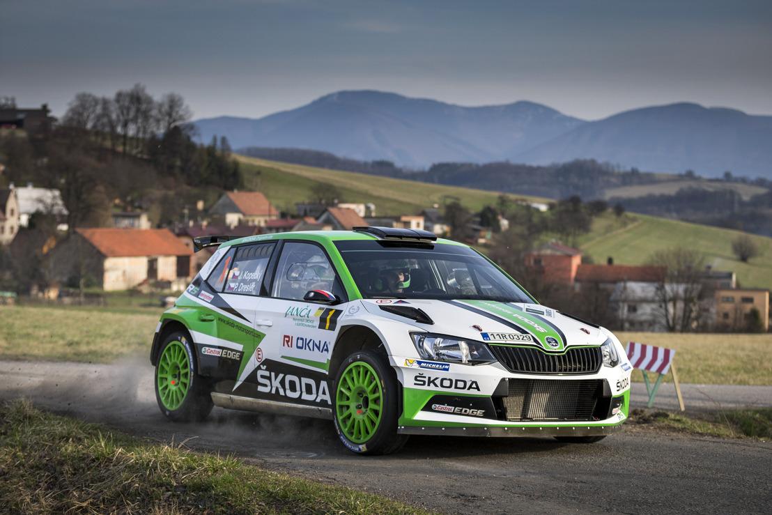 Rally Šumava Klatovy: ŠKODA aims to continue winning streak