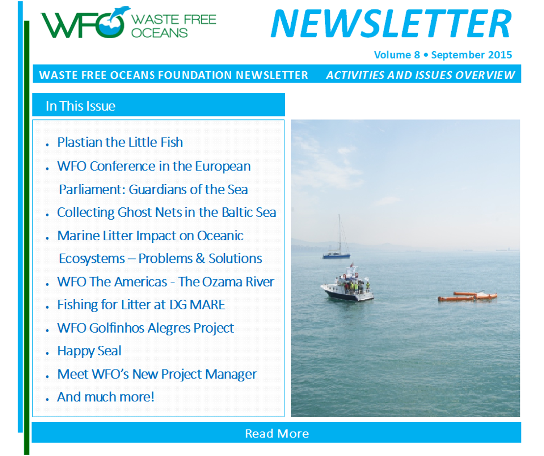 Waste Free Oceans Newsletter Volume 8