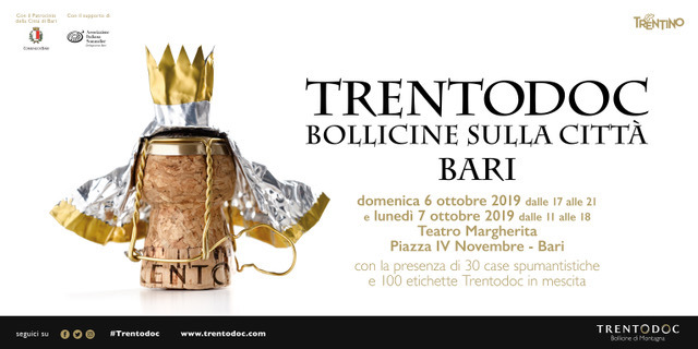 Trentodoc: Bollicine sulla Città Bari